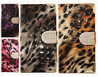 Samsung Galaxy S6 EDGE Crocodile Leopard Leather Wallet Flip Cover +Screen Guard