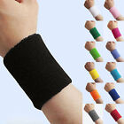 New Sports Basketball Unisex Cotton Sweat Band Sweatband Wristband Wrist Band