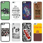 Sayings Quotes & Slogons Case Cover for Apple iPhone 4 4s 5 5s 6 6 Plus - 24