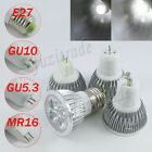 E27/GU10/MR16/GU5.3 LED Cool White Light Globe Bulb Lamp Downlight SpotLight New