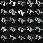 2 Imaginative Initials Letters Stainless Wedding Present Mens Silver Cuff Links