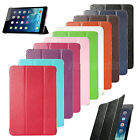 Slim Smart Magnetic PU Leather Case + Back Case Cover For Apple iPad Mini 1/2/3
