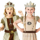 Viking Warrior Kids Fancy Dress Book Week Historical Boys Girls Costume Outfits