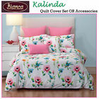 Kalinda Floral Spring Jacquard Quilt Cover Set or Accessories by Bianca
