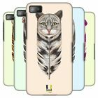 HEAD CASE DESIGNS FEATHER ANIMALS HARD BACK CASE FOR BLACKBERRY Z10