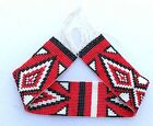 Native American Style Beaded Strip 1 1/4 X 10 inch Handmade P11015