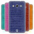 PELLE DI COCCODRILLO PATTERN CASE IN GEL PER SAMSUNG GALAXY CORE 2 G355H