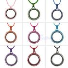 Living Memory Round Locket Pendants Necklaces & Bracelets For Floating Charms