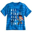 Disney Store Jake & the Never Land Pirates T Shirt Tee Boys Size 2/3 4  NWT