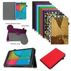Premium Vegan Leather Cover Stand Case for Dragon Touch Tablet PC