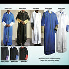 Tony Blake Clergy Robe with Bible on Chest Cross on Sleeves 8 Colors Available