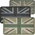 Viper Rubber Velcro Union Jack Army Military Airsoft Novelty Green Patch (S1)