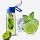 Cycling Camping Sports Outdoor Flip Lid Water Bottle Fruit Infuser Container