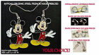 Mickey Mouse #2 Earrings Charm *OPTIONS* Hypoallergenic Pierced OR Clip On