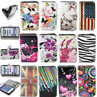 Wallet Flip Leather Phone Soft Rubber Case Cover Pouch For Apple iPhone 4 4S 4G