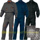Delta Panoply Boilersuit Coverall Work Overalls Mens Mechanics + Free Knee Pads
