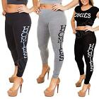 New Womens Ladies Homies Print Full Length Leggings Trousers Pants Size S M L XL
