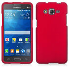 For Samsung Galaxy Grand Prime Rubberized HARD Protector Case Snap Phone Cover