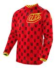 NEW 2016 TROY LEE DESIGNS GP AIR ANARCHY MX JERSEY RED/ FLO YELLOW ALL SIZES