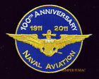 US Naval Aviation 100TH ANNIVERSARY HAT PATCH USS NAVY PIN UP USS NASCentennial