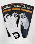 Three(3) New Titleist Players Mens Left Gloves for Right Handed Golfer Pick Size