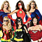 Sexy Superhero Costumes Womens Comic Book Movie Ladies Adult Fancy Dress Outfit