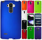 For LG G Stylo Rubberized HARD Protector Case Snap On Phone Cover + Screen Guard