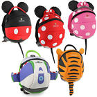LittleLife DISNEY DAYSACK WITH REIN Baby/Toddler/Child Backpack Reins Bag BN