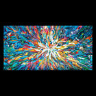 Abstract Fine Art Modern Custom Oil Painting Huge Contemporary Wall Deco Canvas