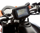 Locking Strap Motorcycle Mount + Water Resistant Case For TomTom Go Sat Nav