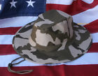 BOONIE HAT CAP US MARINES DESERT CAMO SPECIAL OPERATIONS RECON BROWN CAMOFLAUGE