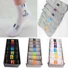 7 pair Mens Cotton Socks Low Cut Ankle Socks Crew Sock Warm Winter Autumn Socks