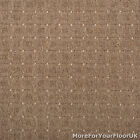 Brown Teak Patterned Loop Pile Carpet STAIN RESISTANT Quality Feltback 4m Wide