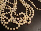 30 FT 4mm Ivory Wedding Pearl Bead Garland Rope Craft 687