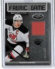 ZACH PARISE 2012-13 PANINI CERTIFIED FABRIC OF THE GAME GAME USED JERSEY#/299