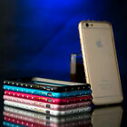 Luxury Ultra Thin Metal Aluminium Bling Bumper Frame Case for iPhone 6 5 6 Plus