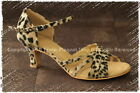 TPS Leopard Pattern Suede Women Shoes Plastic Sole Ourdoor All Sizes L400