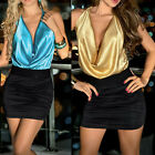 Summer Sexy Women Bodycon Evening Party Cocktail Mini Dress Clubwear PLUS SIZE L