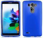 BLUE TPU Protector Gel Case for LG Optimus G3 G 3