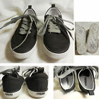 WORN ONCE Gymboree Holiday Black Wingtip Lace Up Sneakers Shoes SZ 11