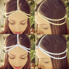 Women Shiny Hair Band Metal Head Chain Jewelry Headband Head Piece unique gift