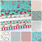 MODA DAY SAIL 7 fq bundle & fabrics sold per fat quarter ( 20 x 22inches)