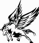 NEW TRIBAL HORSE  #TAN2/44  DECAL VINYL GRAPHIC  CAR  SUV VAN WINGS RV VEHICLE