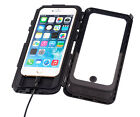 """Waterproof Case for Apple iPhone 6 plus 6s plus 5.5"""" + Hard Wire Adapter Cable"""