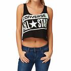 Converse Awt  Streaming Color Crop  Womens  Tank Top - Converse Black