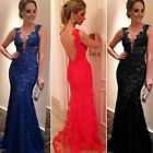 Women's  Maxi Long Evening Party Ball Prom Gown Formal Bridesmaid Cocktail Dress