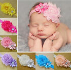 Lovely Baby Girls Flower Hairband Elastic Headband Hair Band Head Accessories