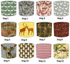 Lampshades Ideal To Match Vintage & Retro Stag Deer Wallpaper & Stag Cushions