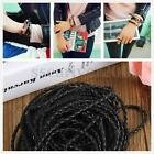 3mm 9M CHIC Braided Leather Necklace Chains Bracelet Cord Thread Jewelry Charms