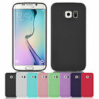 Jelly Ultra Slim Silicone Gel Back Case Cover For Samsung Galaxy S6 Edge